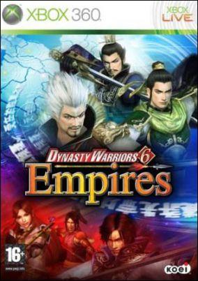 Copertina del gioco Dynasty Warriors 6 Empires per Xbox 360
