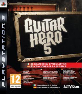 Immagine della copertina del gioco Guitar Hero 5 per PlayStation 3