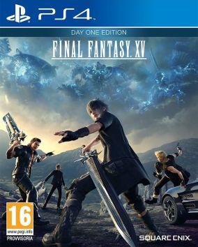 Immagine della copertina del gioco Final Fantasy XV per PlayStation 4