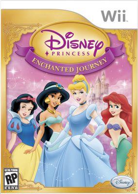 Immagine della copertina del gioco Disney Principesse: Il Viaggio Incantato per Nintendo Wii