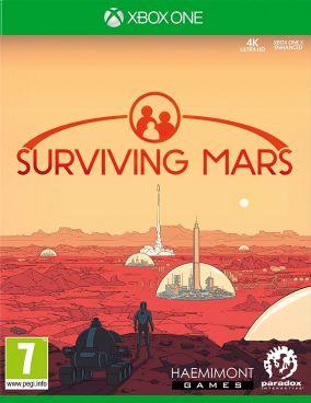 Immagine della copertina del gioco Surviving Mars per Xbox One