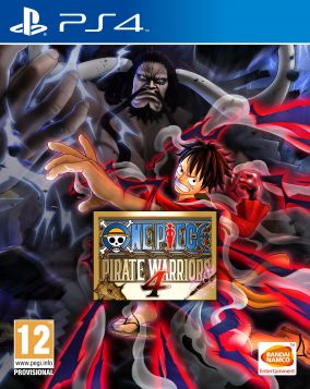 Copertina del gioco One Piece: Pirate Warriors 4 per PlayStation 4