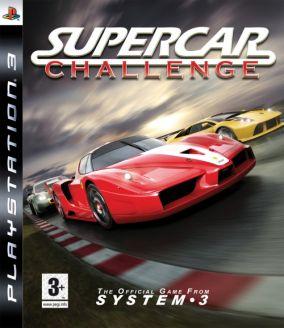 Immagine della copertina del gioco SuperCar Challenge per PlayStation 3