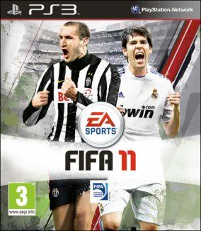 Copertina del gioco FIFA 11 per PlayStation 3