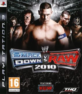 Copertina del gioco WWE SmackDown vs. RAW 2010 per PlayStation 3