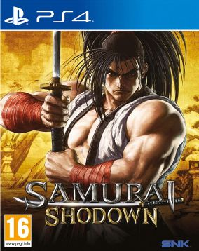 Copertina del gioco Samurai Shodown per PlayStation 4