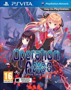 Copertina del gioco Operation Abyss: New Tokyo Legacy per PSVITA