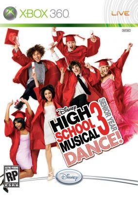 Copertina del gioco High School Musical 3: Senior Year Dance! per Xbox 360