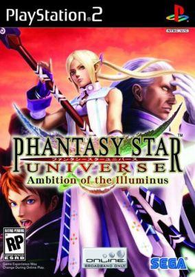 Copertina del gioco Phantasy Star Universe: Ambition of the Illuminus per PlayStation 2