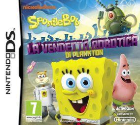 Copertina del gioco SpongeBob SquarePants: La Vendetta Robotica di Plankton per Nintendo DS