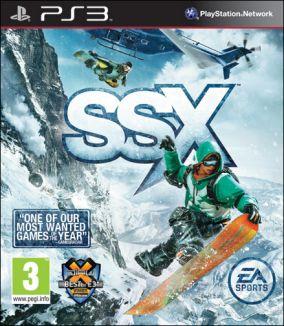 Copertina del gioco SSX per PlayStation 3