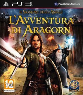 Immagine della copertina del gioco Il Signore degli Anelli: L'Avventura di Aragorn per Playstation 3