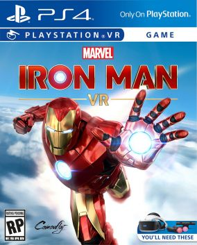 Copertina del gioco Marvel's Iron Man VR per PlayStation 4