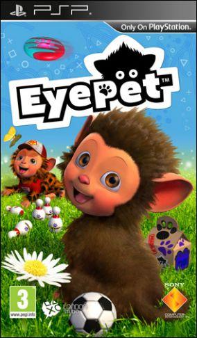 Copertina del gioco EyePet per PlayStation PSP