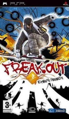 Immagine della copertina del gioco Freak Out: Extreme Freeride per PlayStation PSP