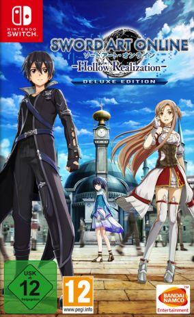 Immagine della copertina del gioco Sword Art Online: Hollow Realization Deluxe Edition per Nintendo Switch