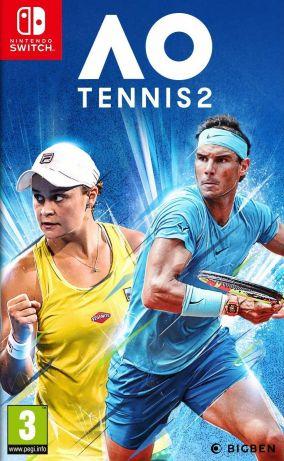 Copertina del gioco AO Tennis 2 per Nintendo Switch
