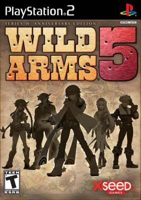 Copertina del gioco Wild Arms 5 per PlayStation 2