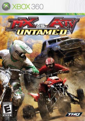 Copertina del gioco MX vs. ATV Untamed per Xbox 360