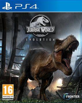 Immagine della copertina del gioco Jurassic World: Evolution per PlayStation 4
