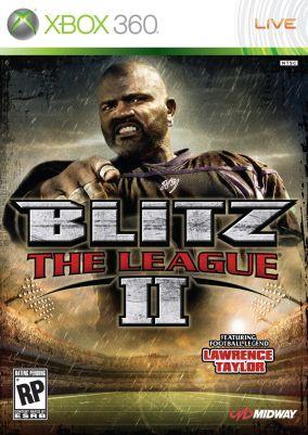 Copertina del gioco Blitz: The League II per Xbox 360
