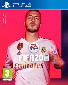 Immagine della copertina del gioco FIFA 20 per PlayStation 4