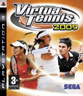 Copertina del gioco Virtua Tennis 2009 per PlayStation 3
