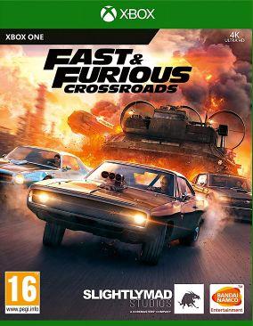 Copertina del gioco Fast & Furious Crossroads per Xbox One