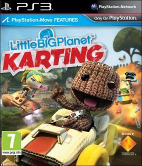 Copertina del gioco LittleBigPlanet Karting per PlayStation 3