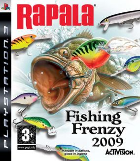 Copertina del gioco Rapala Fishing Frenzy per PlayStation 3