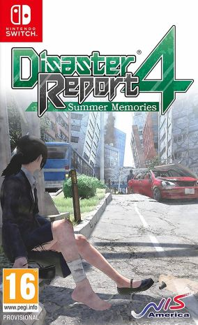 Copertina del gioco Disaster Report 4: Summer Memories per Nintendo Switch