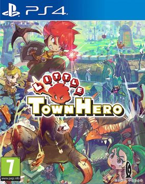 Copertina del gioco Little Town Hero Big Idea Edition per PlayStation 4