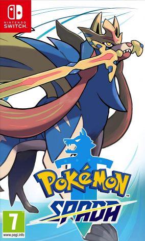 Copertina del gioco Pokémon Spada per Nintendo Switch