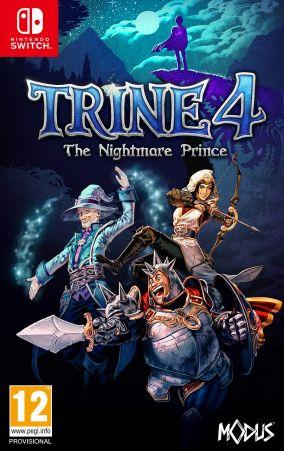 Copertina del gioco Trine 4: The Nightmare Prince per Nintendo Switch