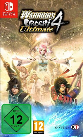Copertina del gioco Warriors Orochi 4 Ultimate per Nintendo Switch
