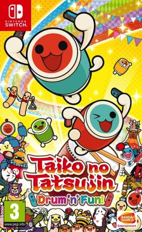 Copertina del gioco Taiko no Tatsujin: Drum 'n' Fun! per Nintendo Switch