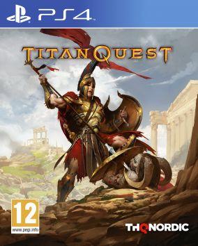 Copertina del gioco Titan Quest per Playstation 4