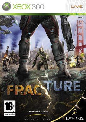 Copertina del gioco Fracture per Xbox 360