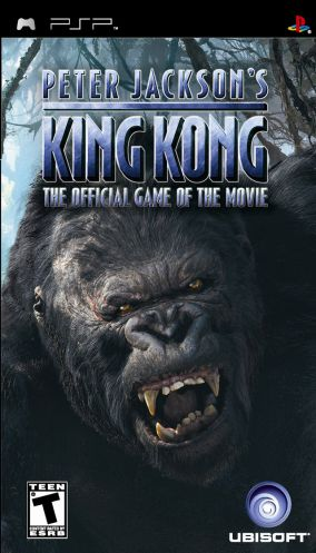 Immagine della copertina del gioco Peter Jackson's King Kong: The Official Game of the Movie per PlayStation PSP