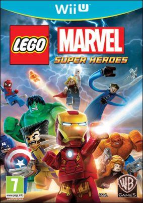 Immagine della copertina del gioco LEGO Marvel Super Heroes per Nintendo Wii U