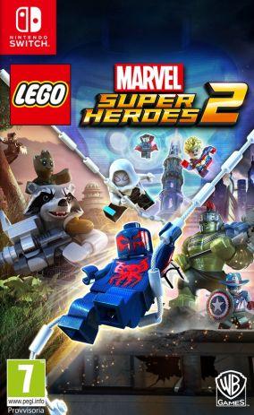 Immagine della copertina del gioco LEGO Marvel Super Heroes 2 per Nintendo Switch
