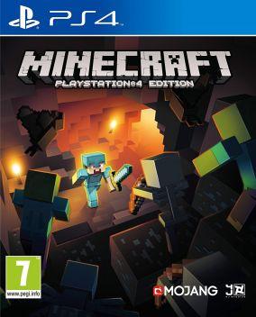 Copertina del gioco Minecraft per Playstation 4