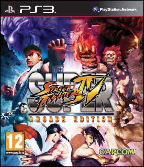 Immagine della copertina del gioco Super Street Fighter IV: Arcade Edition per PlayStation 3