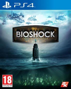 Immagine della copertina del gioco Bioshock: The Collection per PlayStation 4