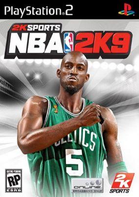 Copertina del gioco NBA 2K9 per PlayStation 2