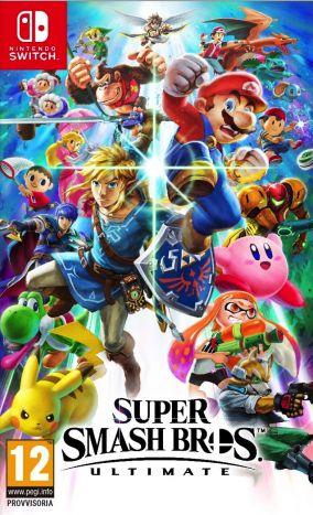 Immagine della copertina del gioco Super Smash Bros. Ultimate per Nintendo Switch