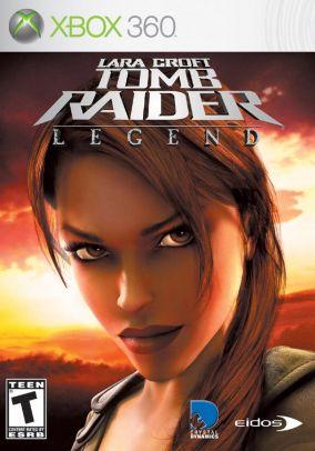 Copertina del gioco Tomb Raider legend per Xbox 360