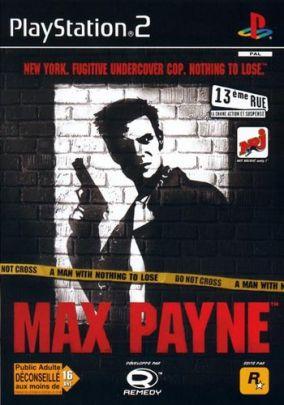 Copertina del gioco Max Payne per PlayStation 2