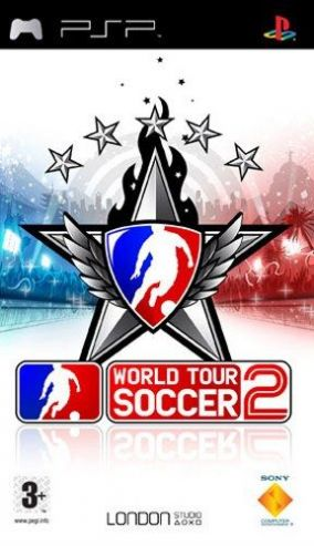 Immagine della copertina del gioco World Tour Soccer 2 per Playstation PSP