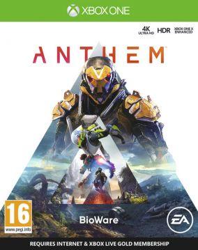 Immagine della copertina del gioco Anthem per Xbox One